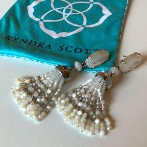 Kendra Scott Dove Tassel Earrings in Pearl